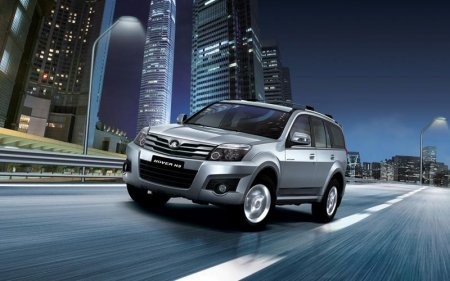 Характеристики нового китайского автомобиля